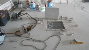 Bauteilöffnung